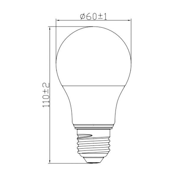 لامپ حبابی ال ای دی